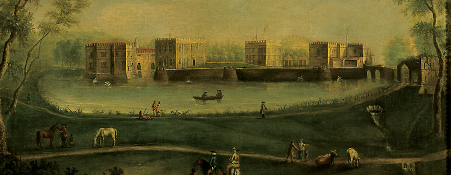 Jacobean Painting of Leeds Castle in Kent